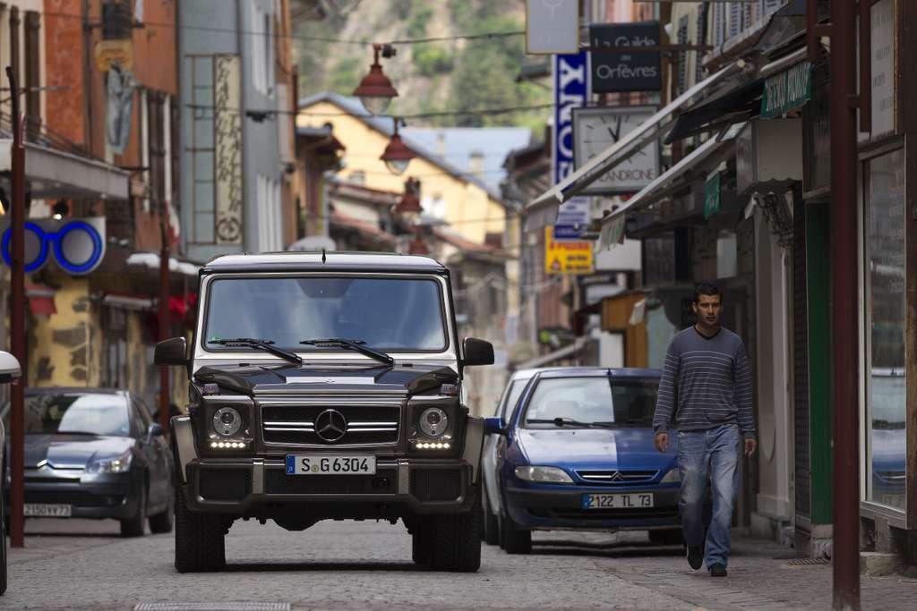 Fahrveranstaltung G63AMG in LaCluzas 2012