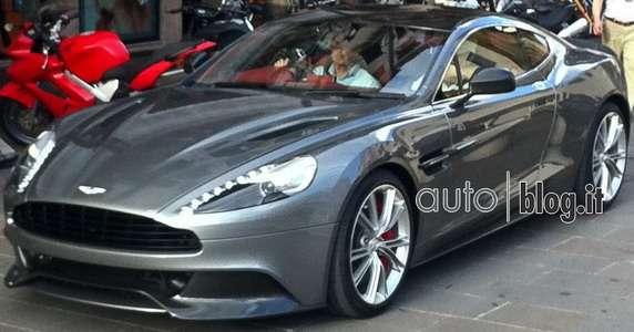 Aston Martin Vanquish przyłapany