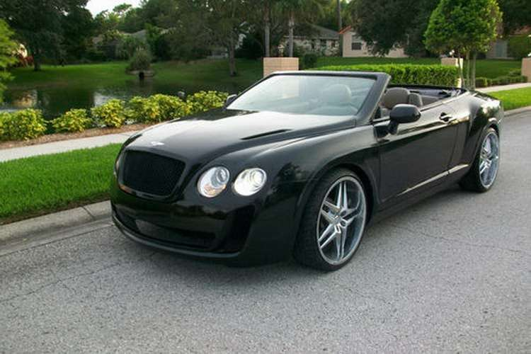 Bentley Continental GTC replika