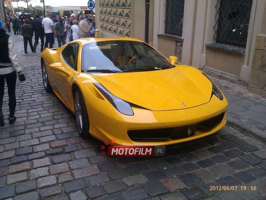 Ferrari 458 Spider w Poznaniu