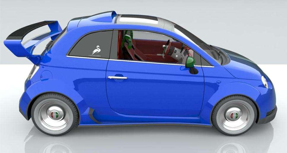 Fiat 550 Italia projekt