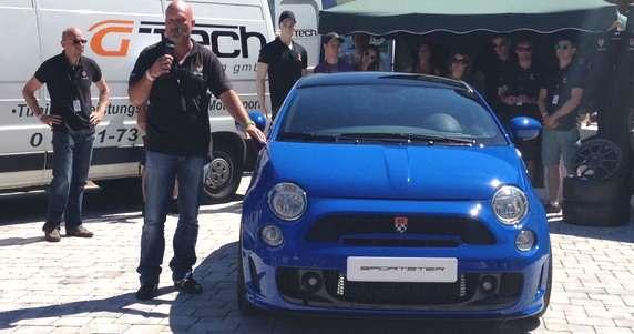 G-Tech Sportster Fiat 500