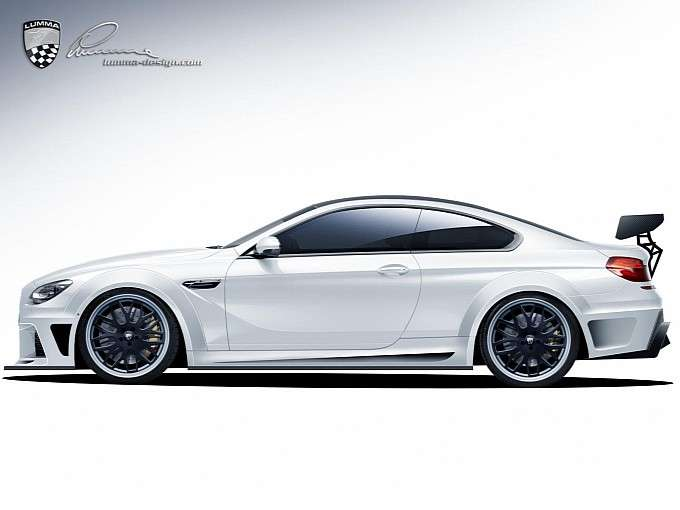Nowe BMW M6 od Lumma Design rendering