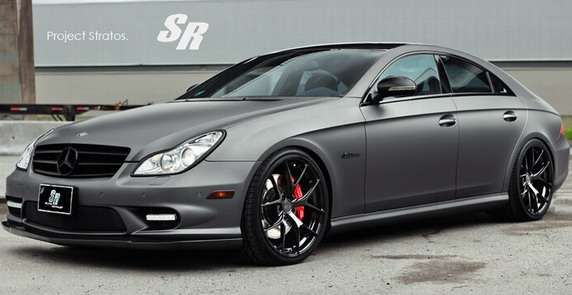 Mercedes CLS63 AMG Project Stratos
