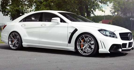 Mercedes CLS63 AMG Luna Projekt od SR Auto Group