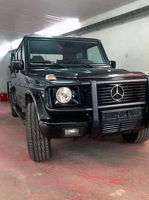 Mercedes-Benz G500 pickup
