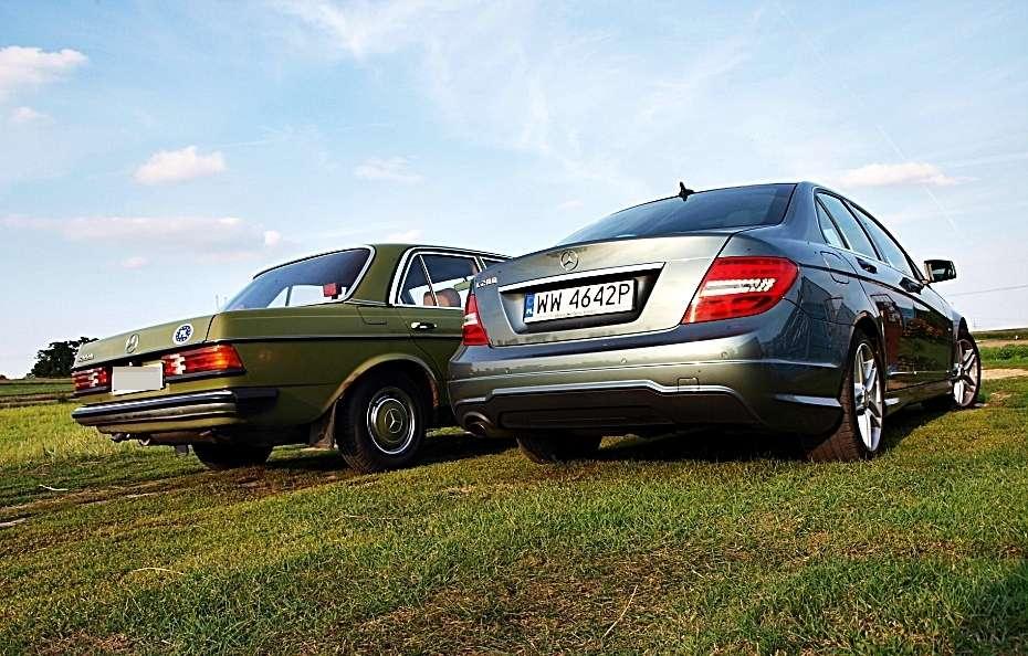 Mercedes klasy C 200 pakiet AMG 2011