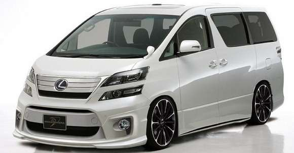 Toyota Vellfire od Wald International tuning