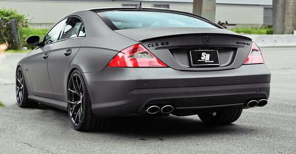 Mercedes CLS63 AMG Project Stratos od SR Auto Group