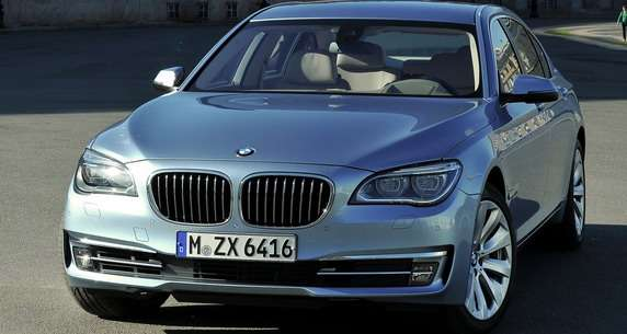 BMW ActiveHybrid 7 2013