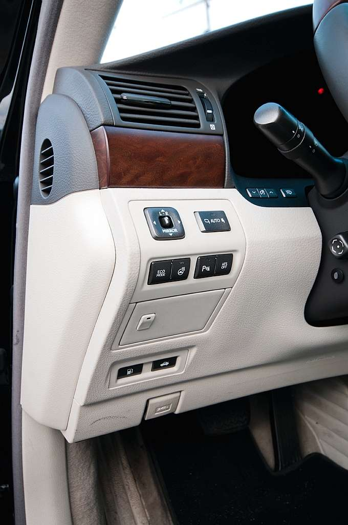 Lexus LS460 AWD test styczen 2012