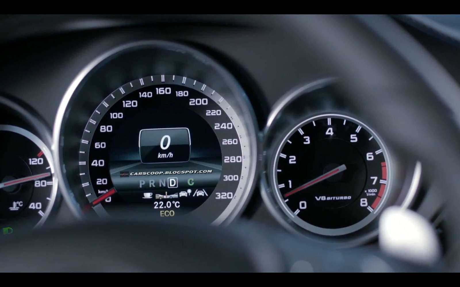 Mercedes CLS 63 AMG Shooting Brake wyciek