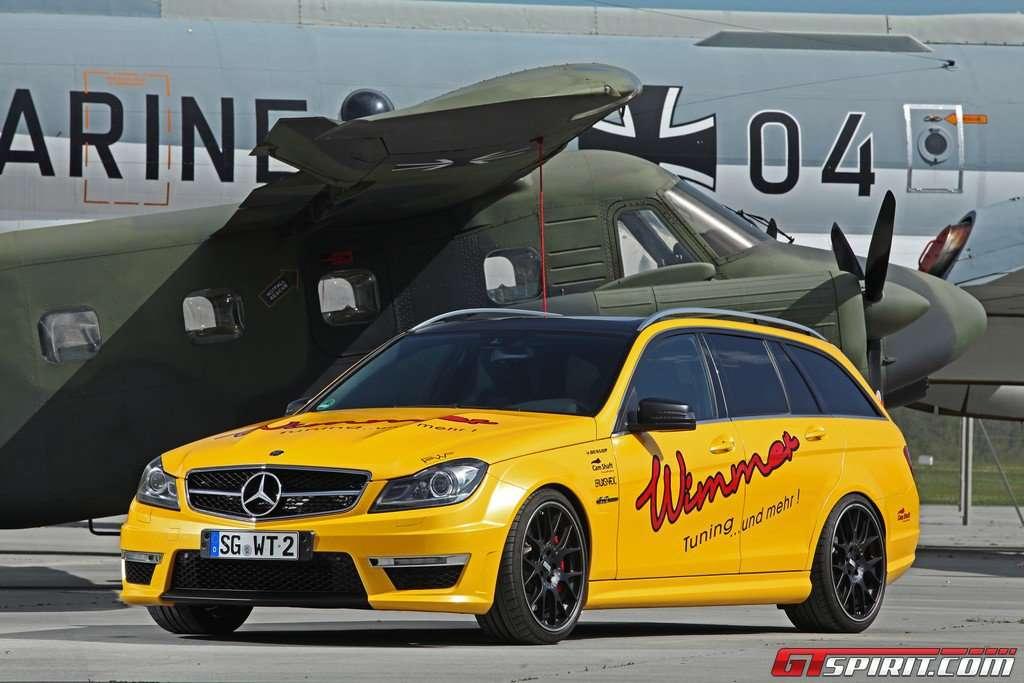 Mercedes C63 AMG Wimmer 621 KM