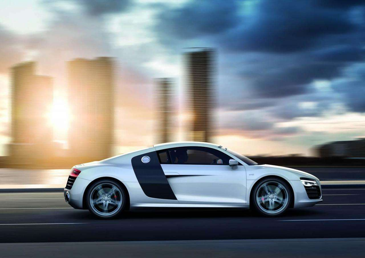 Audi R8 facelift 2012