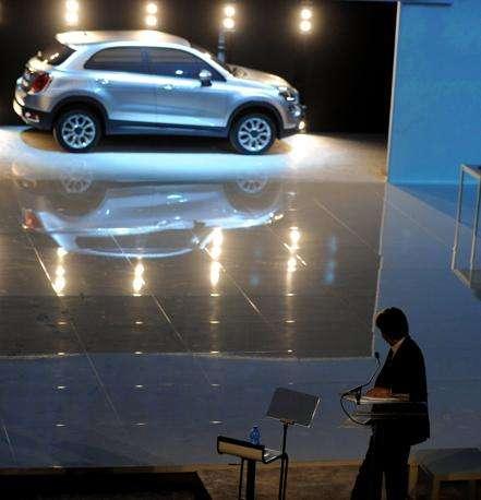 Presentazione della Nuova Fiat 500L alle OGR di Torino