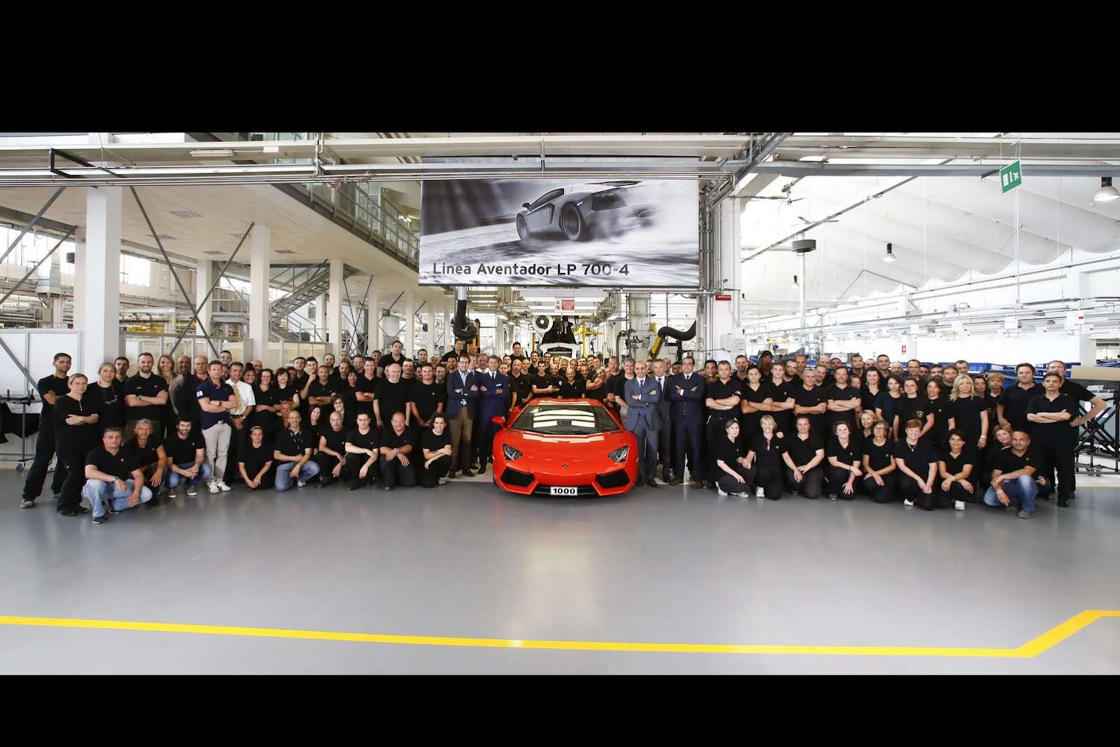Lamborghini Aventador LP700-4 1000 egzemplarz