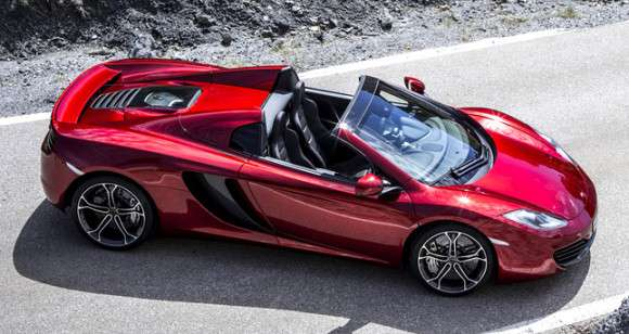 Nowy McLaren MP4-12C Spider