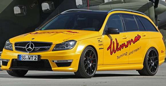 Mercedes C63 AMG od Wimmer