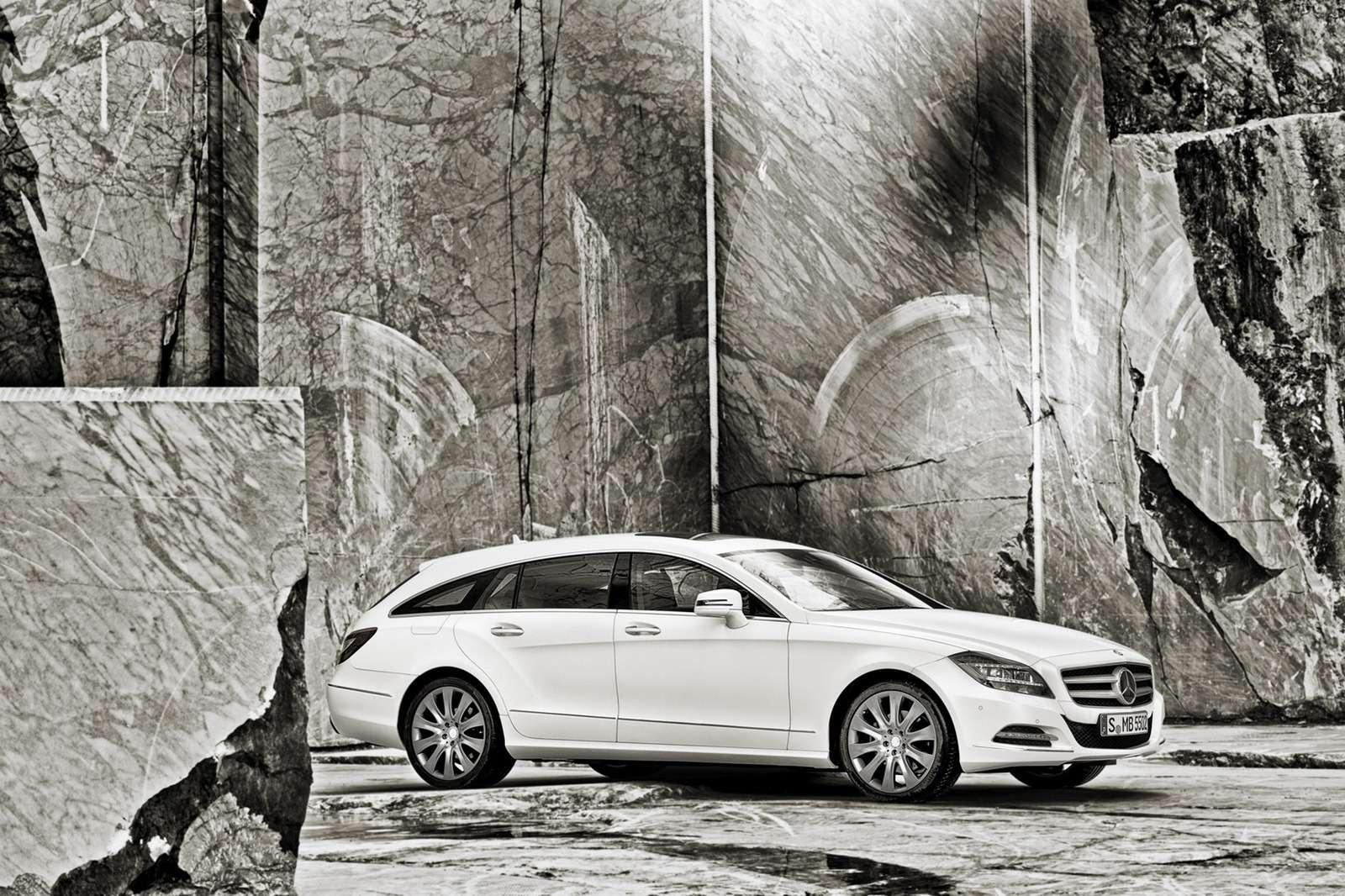 Mercedes CLS Shooting Brake 2013