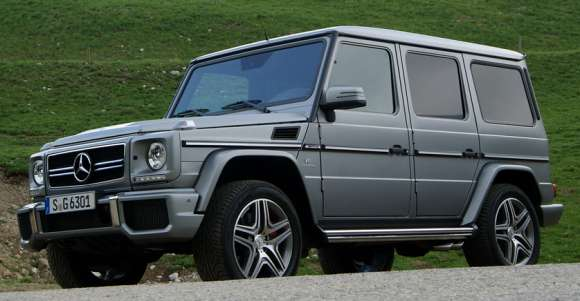 Mercedes G 65 AMG facelift 2013