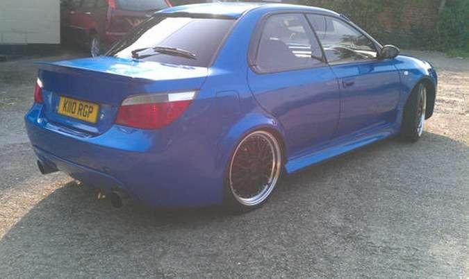 Subaru Impreza WRX z twarzą Audi na sprzedaż