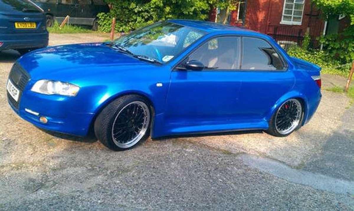 Zlepek Audi-BMW-Subaru: tuning