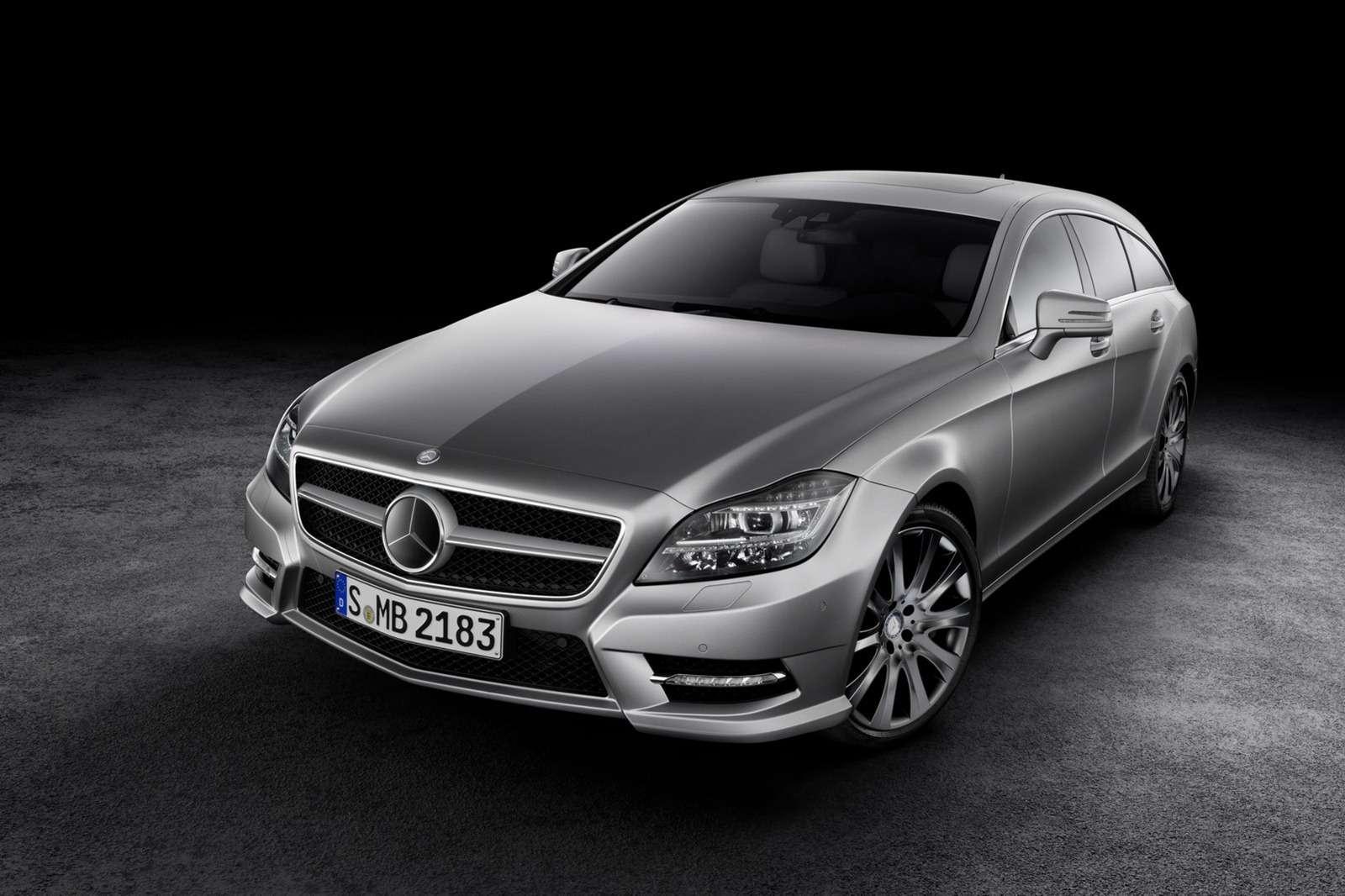Nowy Mercedes CLS Shooting Brake 2013