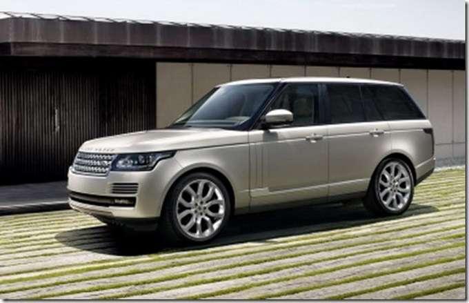 Range Rover 2013 wyciek zdjęć