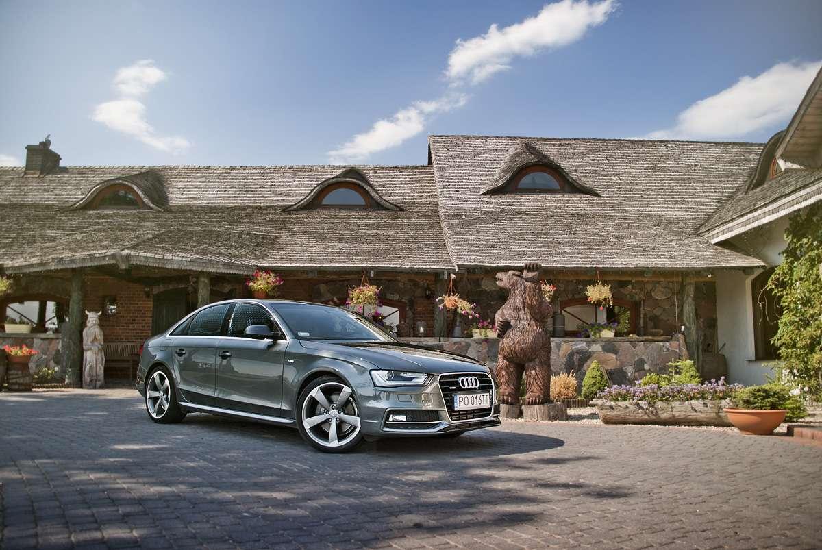 Audi A4 2012 TFSI test