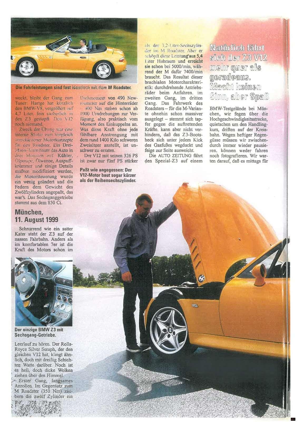 BMW M Z3 V12