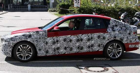 BMW serii 3 GT zdjęcia szpiegowskie