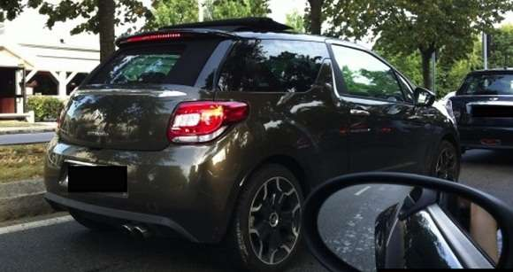 Citroen DS3 Airflow