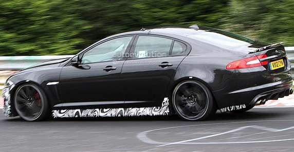Jaguar XFR-S zdjęcia szpiegowskie