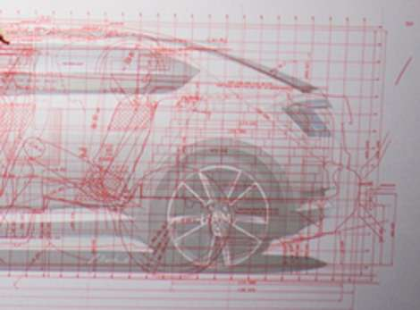 Skoda Octavia 2014 szkice