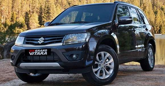 Suzuki Grand Vitara facelift