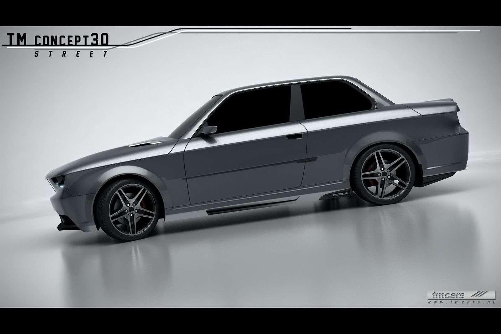 BMW serii 3 E30 koncept TMCars