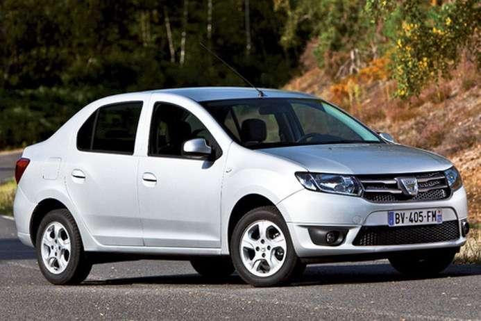 Dacia Logan Sedan 2013 pierwsze zdjęcia