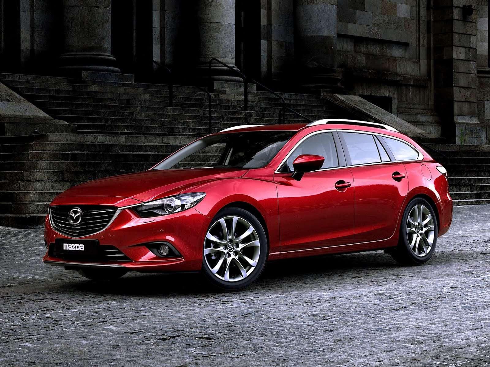 Mazda6 Station Wagon 2014 pierwsze zdjęcia