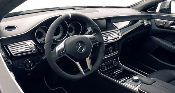 Mercedes CLS63 AMG Yachting Kicherer