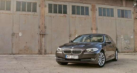 BMW serii 5 xDrive test