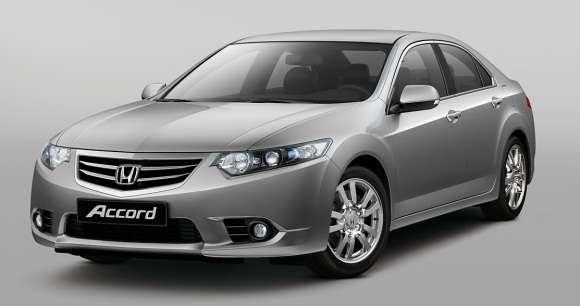Honda Accord 2011 facelift