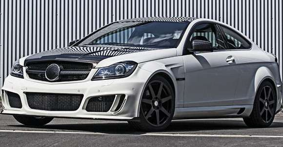 Mercedes C Coupe Mansory