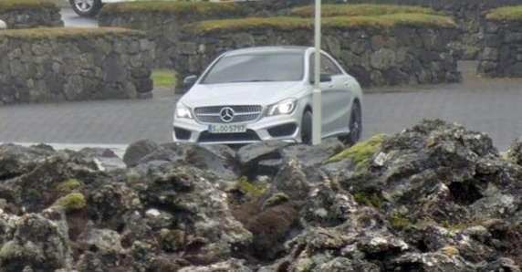 Mercedes CLA 2013 bez kamuflażu