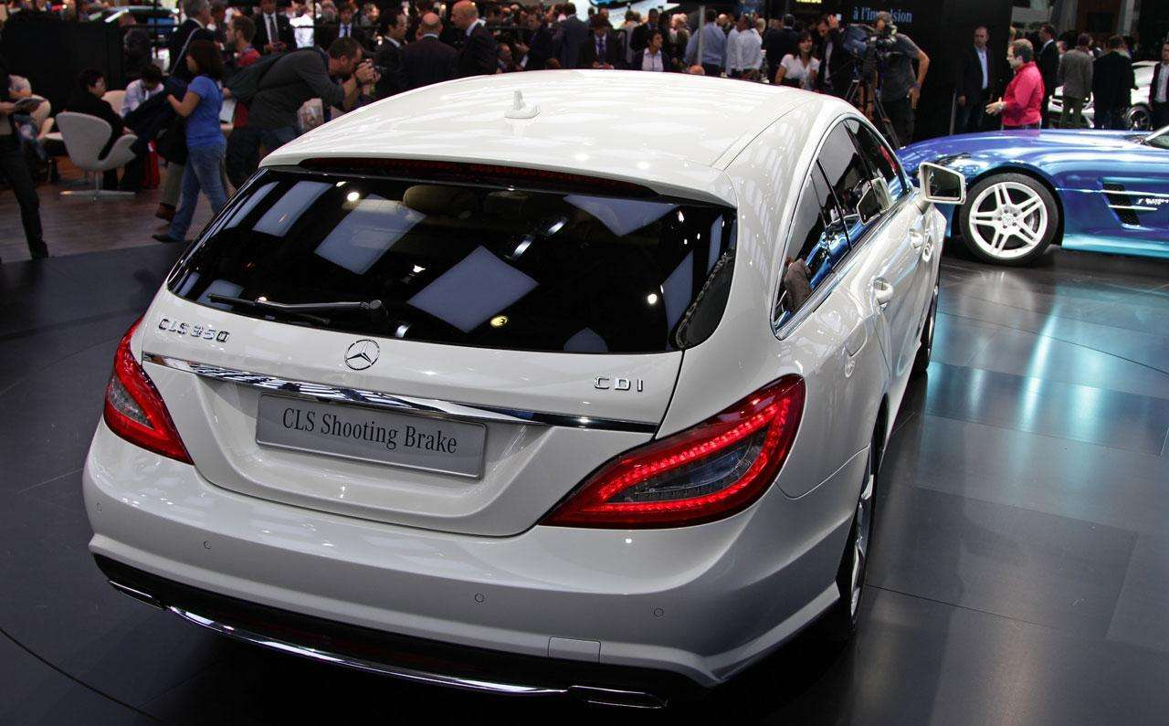 Mercedes CLS Shooting Brake Paryż 2012