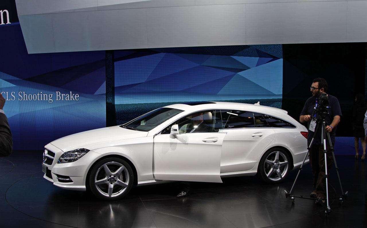 Mercedes CLS Shooting Brake 2012