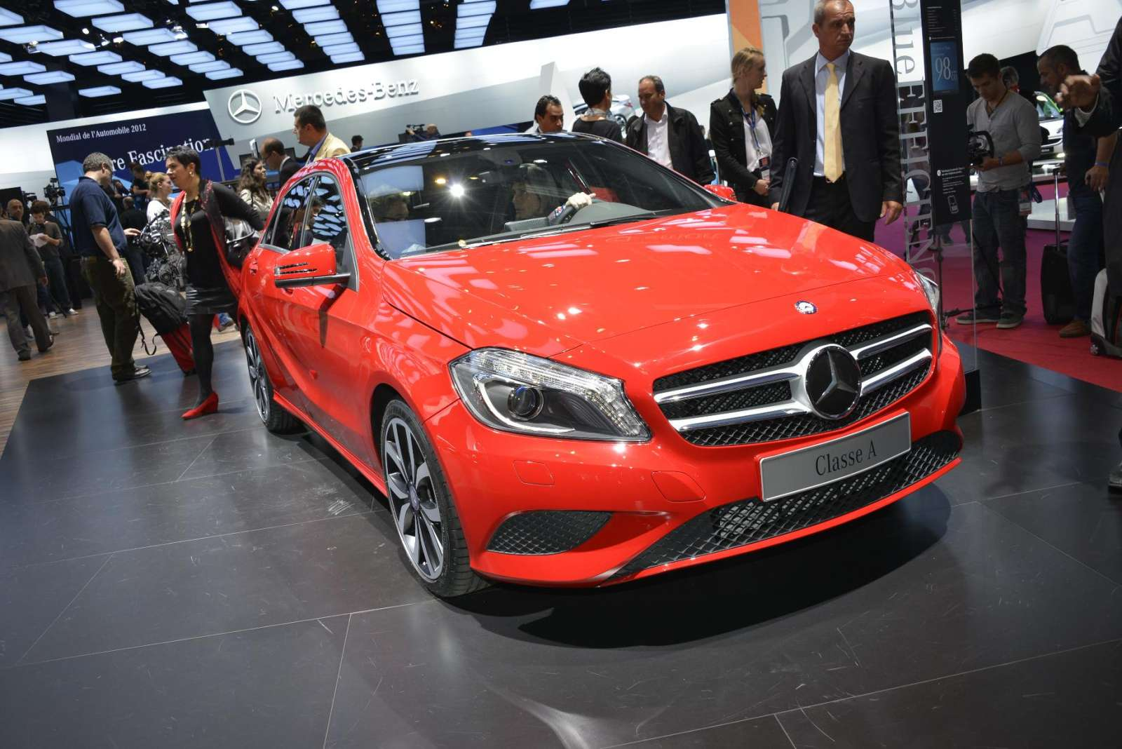 Mercedes-Benz A-Class Live in Paris 2012