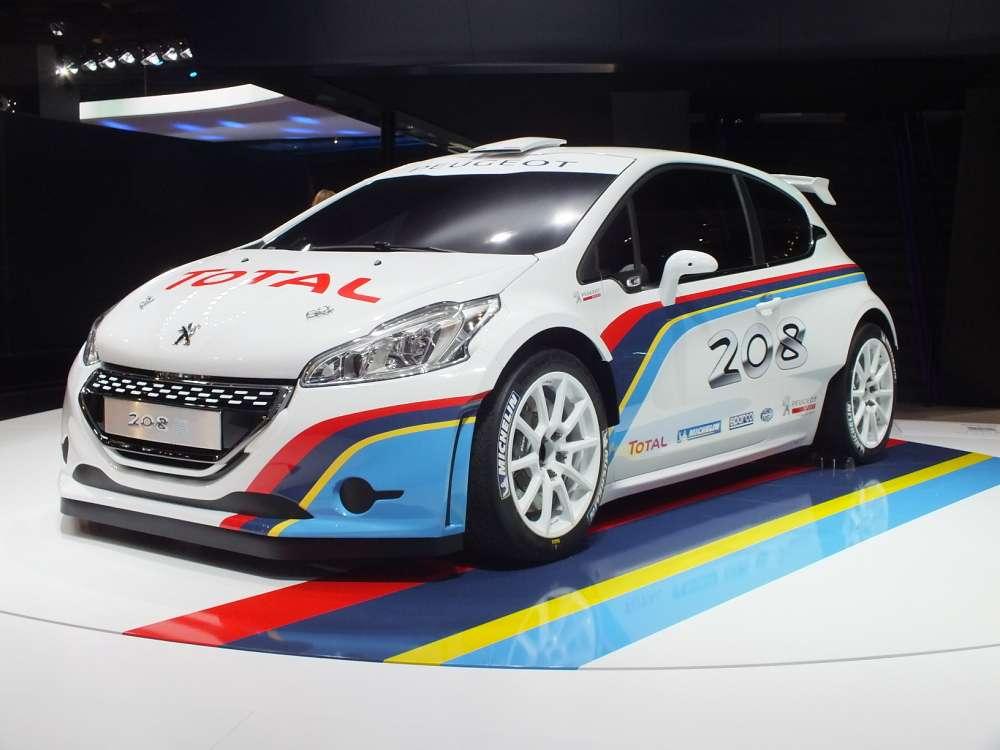 Peugeot 208 R5 Rally