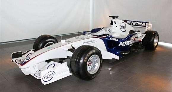 Bolid BMW Sauber F1.06