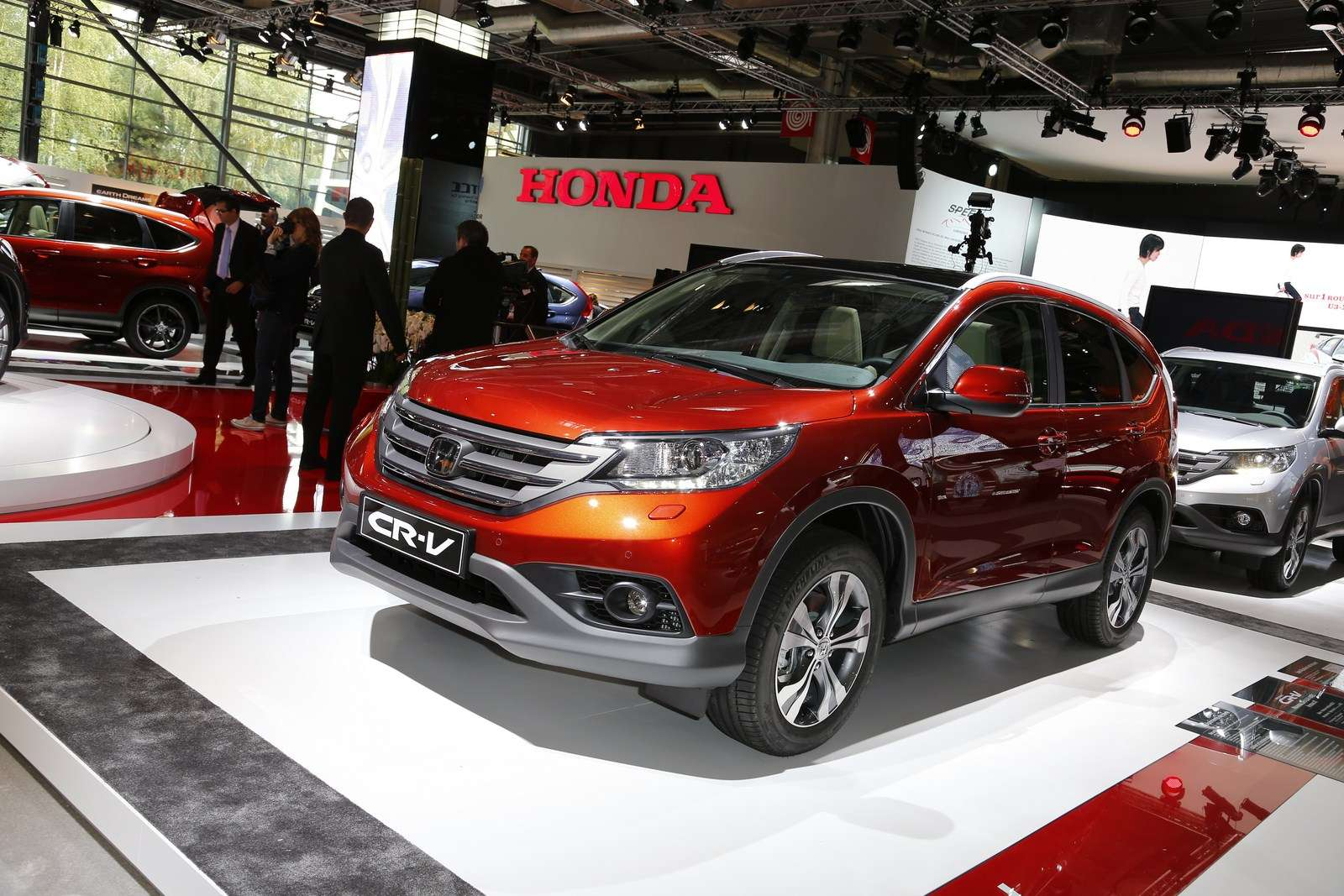 Honda CR-V Live in Paris 2012