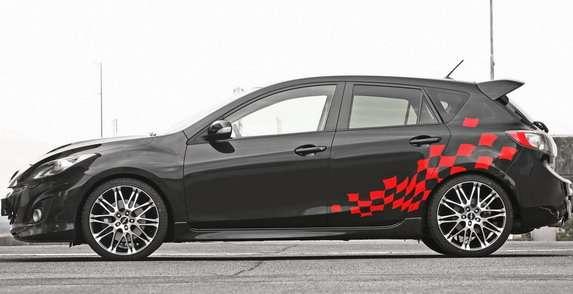 Mazda3 MPS MR Car Design
